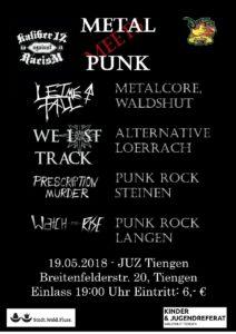 19.05.2018 Metal meets Punk